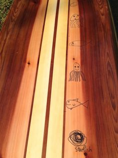 How to add artwork to a paddleboard Butcher Block Cutting Board, Bamboo Cutting Board, Paddle Boarding, Custom Logos, Ads, Wood, Artwork, Madeira, Work Of Art