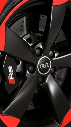 #Audi #RS rim and tire