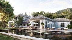 marbella-pasa-del-boom-inmobiliario-al-socavon-sin-plan-de-urbanismo-ni-licencias. Unique Architecture, Residential Architecture, Style At Home, Marbella Villas, Marbella Spain, Modern Villa Design, Expensive Houses, Classic House, Model Homes