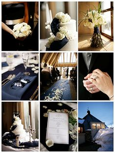 navy blue fall wedding | What Are the Best 20 Wedding Colors? | Wedding Tips