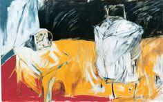 Arte en Buenos Aires. Mariana Jasovich :. pinturas. Serie Objetos y artesanías. Sin título, acrílico sobre tela 96 x 110 cms