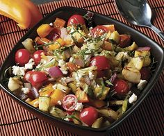When it comes to veggies, it won't be hard to get in your 5 a day with these scrumptious picks. Try our Grilled Vegetable Salad. www.goodeatsprogram.com