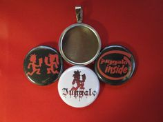 "ICP Juggalo hip hop Handmade 3 changeable Magnetic Pendant 18"" Necklace #WaldoshandmadeorWtnaHandmade #Magnetabilitytypenecklace"