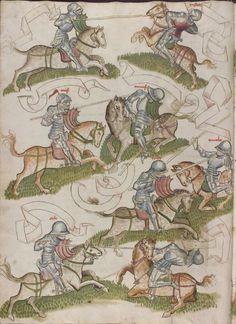 Thomasin <Circlaere>   Welscher Gast (a) Schwaben, um 1460-1470 Cod. Pal. germ. 320 Folio 8v