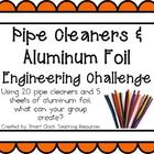 Engineering Challenge:  Using 20 pipe cleaners and 5 sheets of aluminum foil, what can your group create?  Materials: (per pair or group)  20 pipe ...