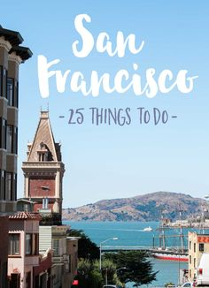 "Things to do San Francisco. It's the city of steep, rolling hills and relentless morning fog. It's a melting pot of cultures. Where else will you find JapanTown, Little Italy, China Town and the colorful Latino Mission District murals all within minutes of each other? San Francisco is home to the legendary Haight Ashtbury – the birthplace of the hippie movement. The ""City by the Bay"" is also home to The Rock, the infamous and now defunct federal prison, Alcatraz, once filled with mobsters."