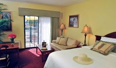 Elegant Boutique Hotel Interior Design of The Inn on Fifth Hotel Naples, Florida Guest Room
