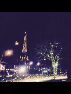 Paris by night. Love it.