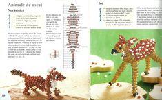 Ioana Simula uploaded this image to & See the album on Photobucket. Seed Bead Crafts, Seed Bead Jewelry, Beading Tutorials, Beading Patterns, Beaded Animals, Beaded Purses, Beaded Ornaments, Stuffed Animal Patterns, Brick Stitch