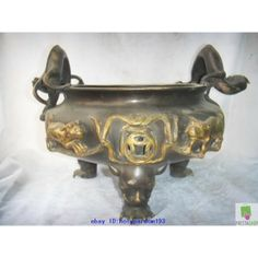 ANTIQUE CHINESE TEMPLE INCENSE BURNERS | next