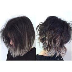 Top 17 Ombre Frisuren für kurze Haare Top 17 Ombre Frisuren für kurze Haare Neue Frisuren Ombré Hair, Hair Dos, New Hair, Pretty Hairstyles, Wedding Hairstyles, Hairstyle Ideas, Layered Hairstyles, Popular Hairstyles, Grey Bob Hairstyles