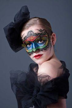 venetiaans masker schminken