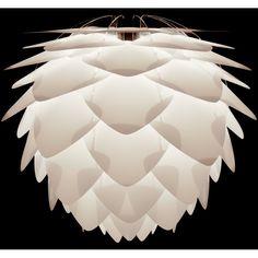Umage Lighting / Vita Copenhagen Silvia Ceiling Pendant Light Shade Regular 45 x - White Ceiling Pendant, Ceiling Lamp, Pendant Lighting, Ceiling Lights, Pendant Lamps, Wall Mounted Lamps, Ceiling Shades