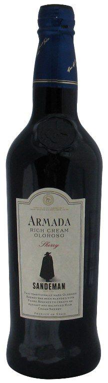 Armada, Rich Cream Oloroso Sherry, Sandeman