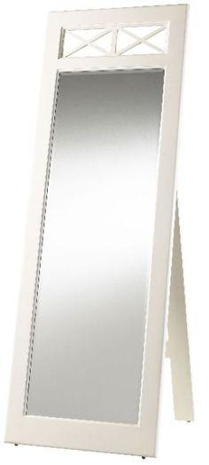 """Spirit Lake White Cheval Mirror 25""""x72"""""""