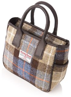 Beautiful HarrisTweed and British wool capes and accessories available now in stunning colour options available from Tweedleberry today. Leather Handbags, Leather Bags, Wool Cape, Harris Tweed, Fabric Bags, Sewing Clothes, Bag Making, Thrifting, Purses And Bags