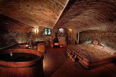 Beer spa in Prague Prague, Cabana, Czech Beer, Wooden Architecture, Hotel Restaurant, Beautiful Places In The World, Czech Republic, Brewery, Wellness