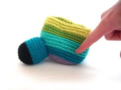 Fresh Stitches shows you how to proportionally attach limbs on your amigurumi.