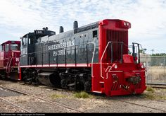 NWP's recently acquired MP15DC (ex former UPY 1293, SP 2694) at the NWP's Schellville, CA depot.