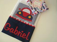 É um kit composto por três fraldinhas, são confeccionada em fralda de ótima qualidade, barrado em tricoline (100% algodão) e aplicações.  São ótimas para limpar a boquinha do seu bebê.    *** Nesse valor está incluso o primeiro nome do seu bebezinho. Para nomes composto por favor nos consultar. Kit Bebe, Baby Kit, Decorate Notebook, Baby Burp Cloths, Baby Decor, Baby Sewing, Baby Quilts, Embroidery, Kids