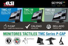 Monitores táctiles capacitivos Seypos TMC Series