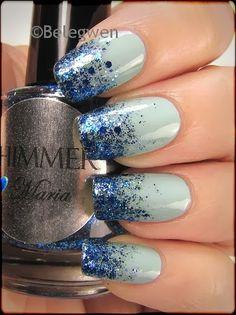 Nail Art by Belegwen: Shimmer Polish: Maria