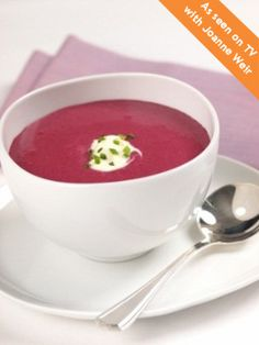 Scandinavian Blueberry Bisque. Who would have thought? Get creative at your next potluck, and share this tasty and surprising mix of flavors!