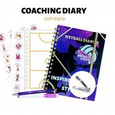 Shop - Netball Diaries Netball Coach, Train Activities, Pocket Notebook, Thank You Gifts, Diaries, Coaching, Shop, Thank You Presents