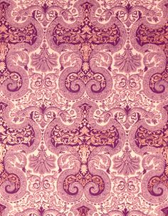 luxepaperie.com amethyst damask double deluxe