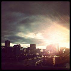 #Portland #Oregon #Sunset