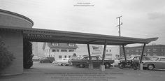 Yaws Drive-In Restaurant NE 40th Avenue at Tillamook Street May 1 1951 Portland Oregon