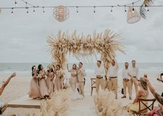 This Beachy Boho Wedding at Sanctuary Ho Tram is Like a Royal Mermaid Affair Boho Beach Wedding, Hipster Wedding, Beach Wedding Inspiration, Mermaid Wedding, Wedding Day Makeup, Bridal Makeup Looks, Wedding Makeup Artist, Wedding Blog, Dream Wedding