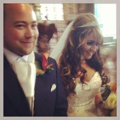 Brides hair by Elation ,Venue Marble Church st,Asaph