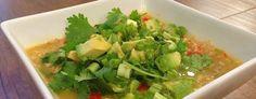 PALEO AVOCADO CHICKEN SOUP RECIPE | Paleo Recipes for the Paleo Diet
