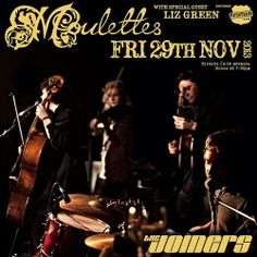 We're supporting the fantastic 'Moulettes' this Friday (29th Nov) at The Joiners, Soton (we'll be on at 8:45pm/£9 adv). We'll then be raisin' the roof down at The Bent Brief the following night (Sat 30th Nov - 9pm start/free entry). Come make some holes in dem honky-tonk floors!