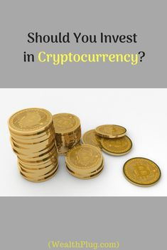 """Blog reveals why you should invest in """"Cryptocurrency"""". Visit (WealthPlug.com) for info. Investing In Cryptocurrency, Check It Out, Place Card Holders, Names, Blog"""