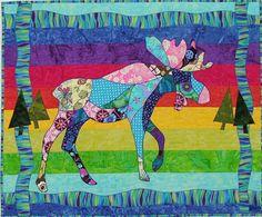 BJ Designs & Patterns Morley J. Moose III Applique Quilt Pattern