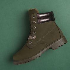 Ghete Opal kaki Timberland Boots, Opal, Shoes, Fashion, Moda, Zapatos, Shoes Outlet, Fashion Styles, Opals