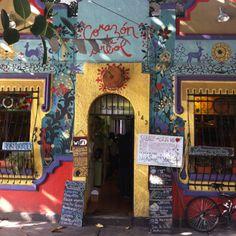 Corazón de árbol restaurant (Mexico city)