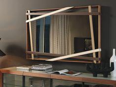 Cattelan Italia Rebus Wall Mirror by Andrea Lucatello  - Chaplins