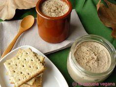 Paté de portobello y nueces | La Cazuela Vegana
