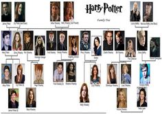 The Harry Potter Family Trees