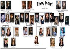 The Harry Potter Family Trees