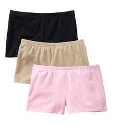 Shorts to go under dresses and skirts