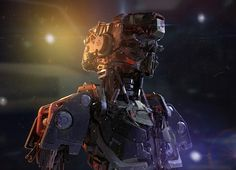 CGTalk - MEK-05, Sci-fi Robot bust. , Taehoon Oh (3D)