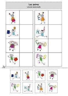 http://nounoulolo88.centerblog.net/ Les paires : L'école maternelle