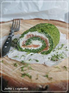 Jadło i czytadło: Rolada szpinakowa z łososiem