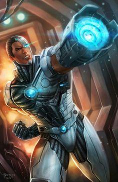 Ciborgue Os Jovens Titans
