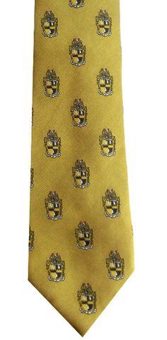 Bow Ties and More.com - Alpha Phi Alpha Fraternity Old Gold Shield Necktie / NT14, $19.99 (http://www.bowtiesandmore.com/alpha-phi-alpha-fraternity-old-gold-shield-necktie-nt14/)
