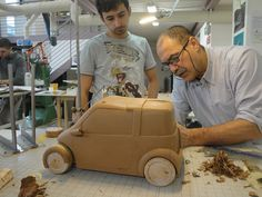 Master in Car Design 2011 Clay Modeling Workshop
